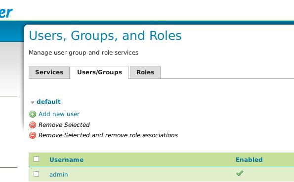Geoserver2.5: trocar senha do usuário admin.