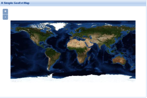 Imagem renderizada usando GeoExt